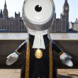London 2012 Olympic Mascot — Stock Photo #12888146