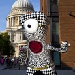 London 2012 Olympic Mascot — Foto Stock