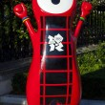 London 2012 Olympic Mascot — Stock Photo