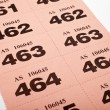 Raffle Tickets — Stock Photo #12890601