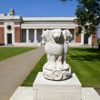 India in Flanders Fields Monument and the Menin Gate in Ypres — Stock Photo