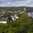 Remagen and the Rhine in Germany - Stock Photo