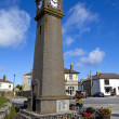 Clock Tower in St. Just, Cornwall. — Stock Photo