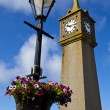 Stock Photo: Clock Tower in St. Just, Cornwall.