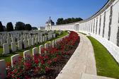 Ypres tyne karyolası mezarlığı — Stok fotoğraf