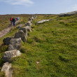 Stock Photo: South West Coast Path in Cornwall