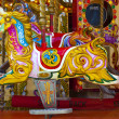 Stock Photo: Carousel Horse