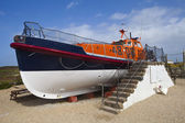 Lifeboat at Land — Stock Photo