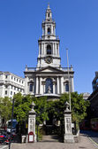 St Mary le Strand in London — Stock Photo