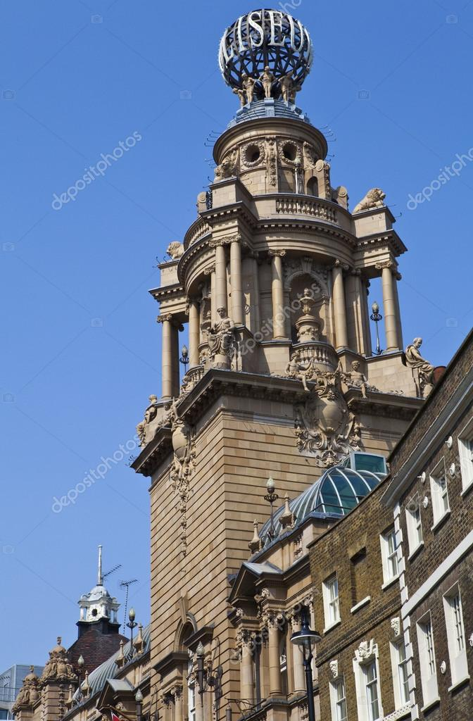 The magnificent architecture of the London Coliseum.  Stock Photo #12963214