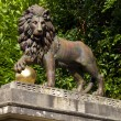 Lion Statue on Royal Avenue in Bath — Stock Photo #13402965