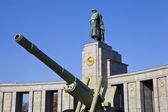Soviet War Memorial in Berlin — Stock Photo