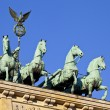 Stock Photo: Brandenburg Gate Quadriga in Berlin