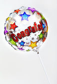 Congrats Balloon — Stock Photo