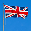 Union Flag of Great Britain — Stock Photo #19419157