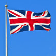 Union Flag of Great Britain — Stock Photo #19419641