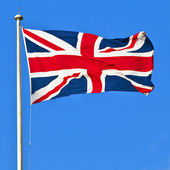 Union Flag of Great Britain — Stock Photo