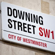 Downing Street in London - Stock Photo