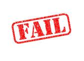 Misslyckas stämpel — Stockfoto