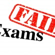 Royalty-Free Stock Photo: Failed Exams