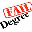Failed University Degree — Stok Fotoğraf #19776831