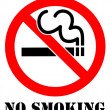 Stock Photo: No Smoking