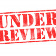 UNDER REVIEW — Stock Photo