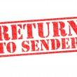 RETURN TO SENDER — Stock Photo