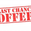 LAST CHANCE OFFER - Stock Photo