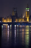 Houses of Parliament in London — Stockfoto