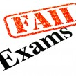 Stock Photo: Exams FAILED