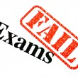 Royalty-Free Stock Photo: Exams FAILED