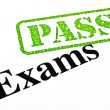 Exams Passing — Stock Photo