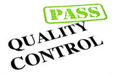 Passing Quality Control — Stock Photo