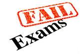 Exams FAILED — Stock Photo
