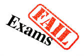 Exams FAILED — Stock Photo
