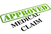 Medical Claim APPROVED — Stock Photo