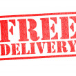 Stock Photo: FREE DELIVERY Rubber Stamp