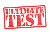 ULTIMATE TEST Rubber Stamp — Stock Photo