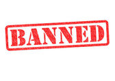 BANNED — Stock Photo