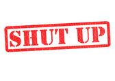 SHUT UP — Stock Photo