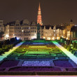 View from Mont des Arts in Brussels — Stock Photo #23874999