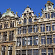 Guildhalls in the Grand Place in Brussels. — 图库照片