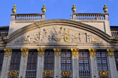 Grand Place Detail, Brussels — Stock Photo