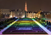 View from Mont des Arts in Brussels — Stock Photo