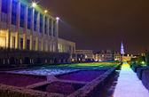 Mont des Arts in Brussels. — Stock Photo