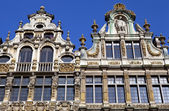 Guildhalls on Grand Place in Brussels — Stock Photo