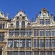 Stock Photo: Panoramof impressive Guildhalls in Grand Place, Brussels