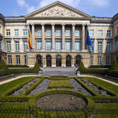 Belgian Parliament Building in Brussels — Stock Photo