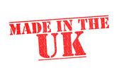 在英国橡皮戳 — 图库照片